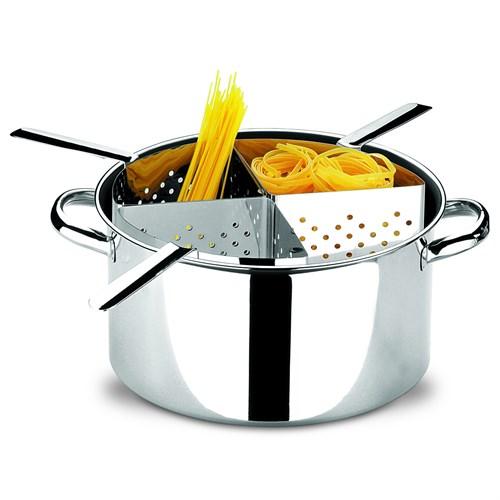 Espagueteira Inox Savoy 4 Divisões Brinox - 1075/200