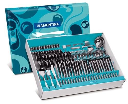 Faqueiro Inox Cosmos 101 peças Tramontina - 66950/027