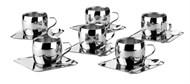 Jogo para Café Inox 18 peças Tramontina - 64430/810
