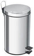 Lixeira Inox com Pedal 12 Litros Tramontina - 94538/112