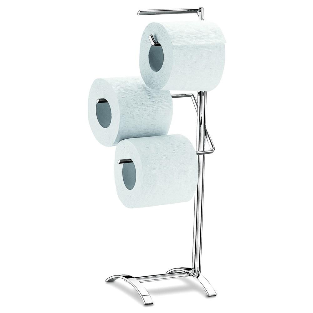 suporte para papel higi nico cromado oggi brinox 1929 100