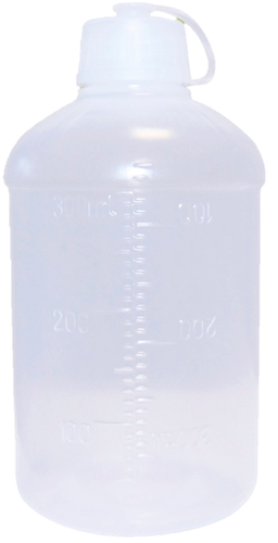 Kit 10 Frascos descartáveis 300 ml - Nutrimed