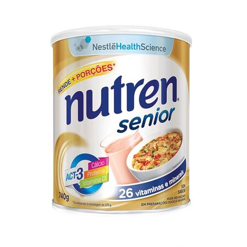 Nutren Senior sem sabor 740 g