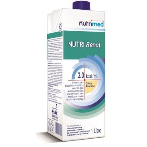 Nutri Renal Baunilha Tetra Pak 1 L