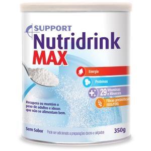 Nutridrink Max Sem Sabor pó lata 350 g