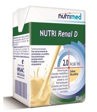 Nutri Renal D Baunilha 200 ml