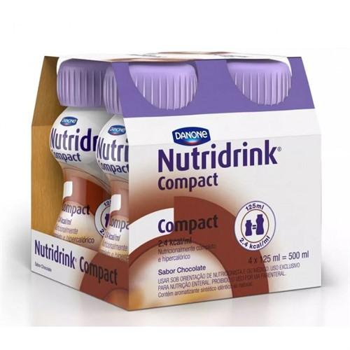 Nutridrink Compact Chocolate 4 un. 125 ml cada