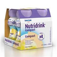 Nutridrink Compact Baunilha 4 un. 125 ml cada