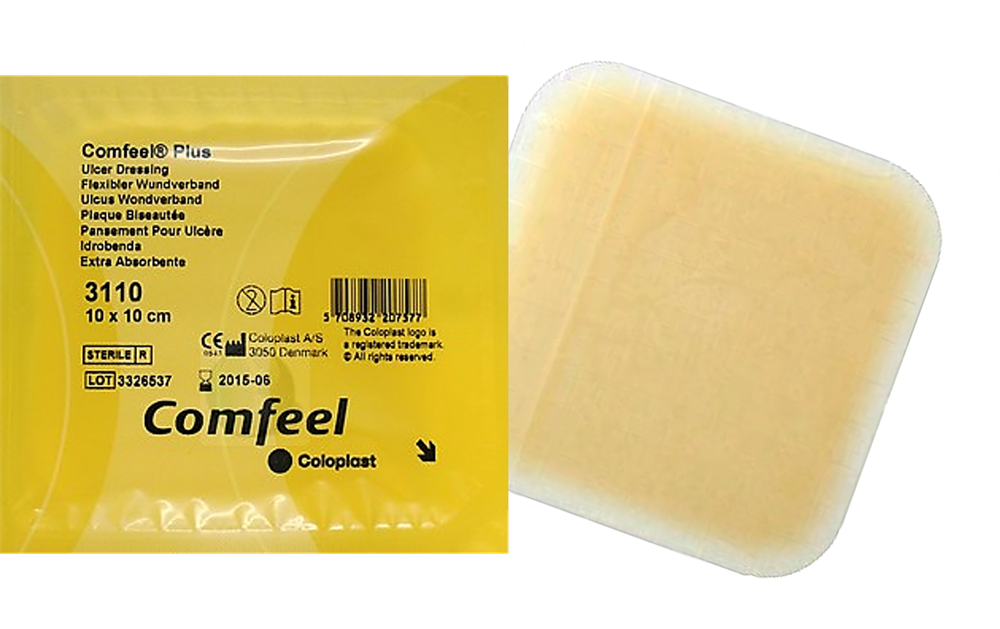 comfeel plus ulcer dressing instructions