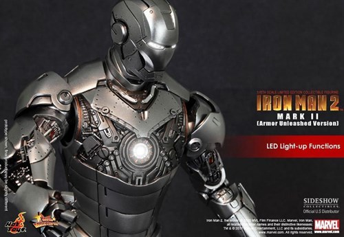 Hot Toys Iron Man 2 Mark Ii Armor Unleashed Version