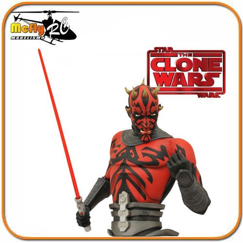 BUSTO COFRE STAR WARS - DARTH MAUL - DIAMOND