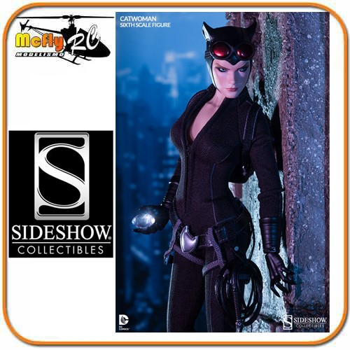 CatWoman Sixth Scale Figure Sideshow Collectibles 1/6 Mulher Gato