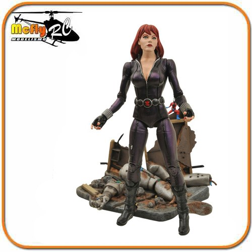 Marvel Select Black Widow - Viuva Negra