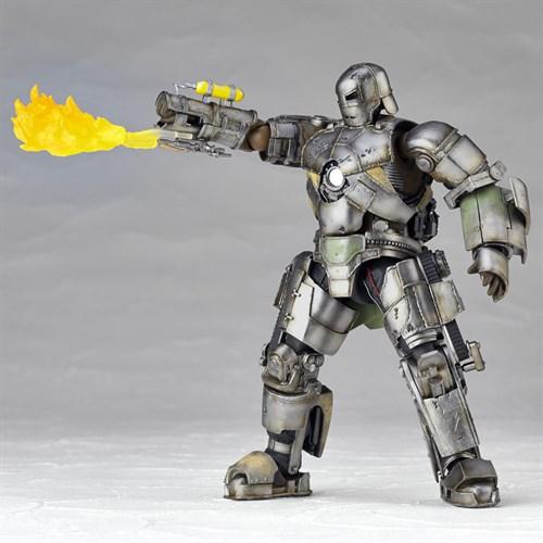 Revoltech Iron Man Mark I 1  LR-023 15 Cm Homem De Ferro