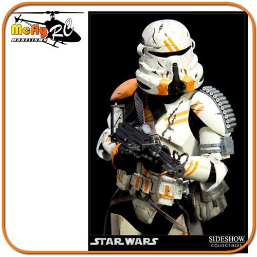 Star Wars Utapau Airborne Trooper Sideshow