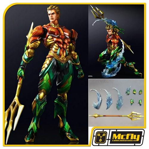 Play Arts Kai Variant Aquaman 8 Dc Comics P/ Entrega