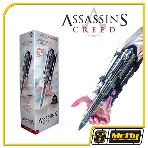 Assassins Creed IV: Hidden Blade and Skull Buckle 1:1 - Mcfarlane