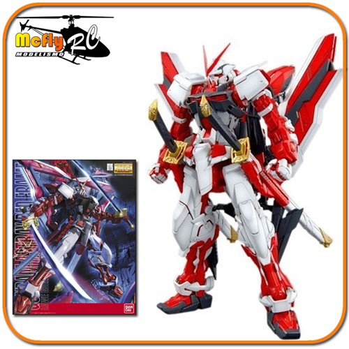 Gundam Seed Astray 1/100 MG Red Frame MBF-P02KAI Model Kit
