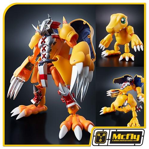 Bandai Wargreymon x Agumon Digimon