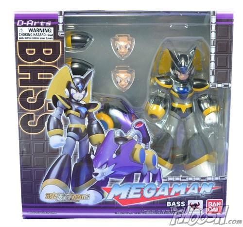 D-arts Megaman Rockman Forte Bass E Treble