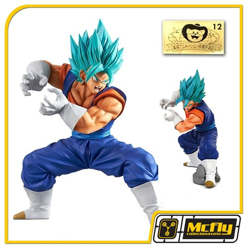 Banpresto Vegetto GOD Final Kamehameha Super Saiyan Dragon ball