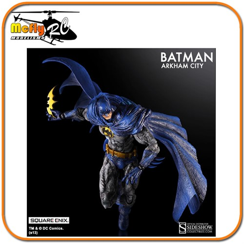 Play Arts Kai Batman 1970s Batsuit Skin Arkham City