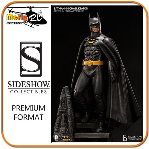 Batman Premium Format Sideshow Michael Keaton 1989 Batman Film Version