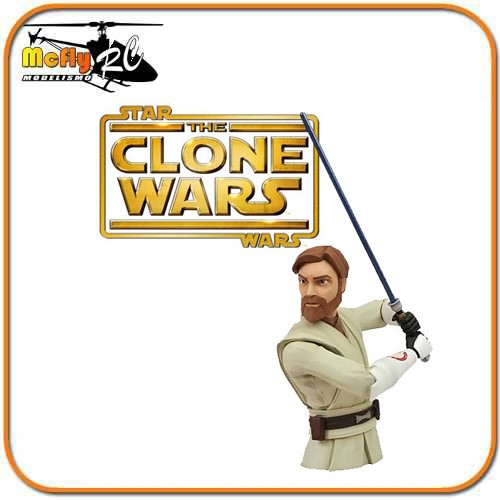 BUSTO COFRE STAR WARS - OBI WAN - DIAMOND