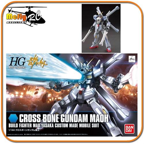 Gundam 1/144 Hg Build Fighters 014 Cross Bone Crossbone Maoh