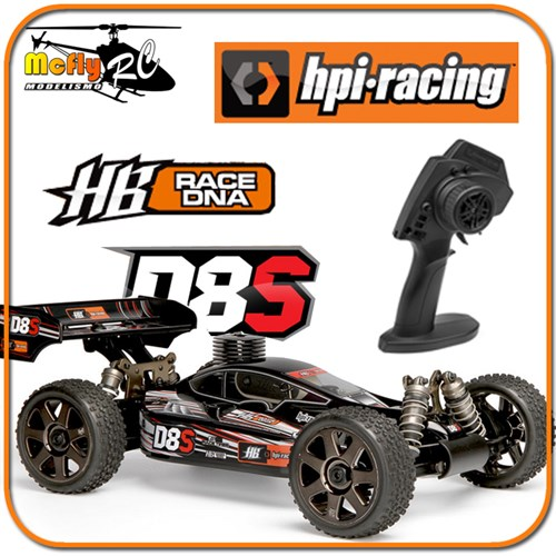 Radio Controle Hpi D8s + 2.4ghz Rtr Profissional #106118