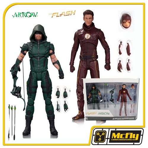Dc Collectibles The Flash e Arrow figure Series TV