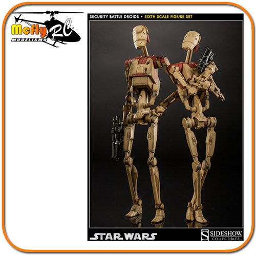 Star Wars Security Battle Droids Sideshow com 2
