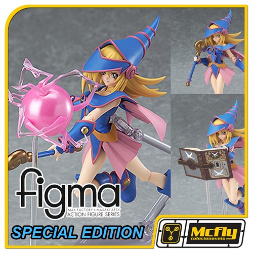 Figma 313 Black Magician Girl Special Edition Yu Gi Oh