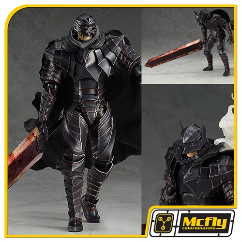 Figma 410 Guts Berserker Armor ver Repaint Skull Edition