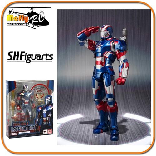 S.h Figuarts Iron Man 3 Iron Patriot Bandai lacrado