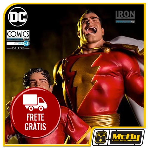 Iron Studios Shazam by Ivan Reis  1/10 Art Scale