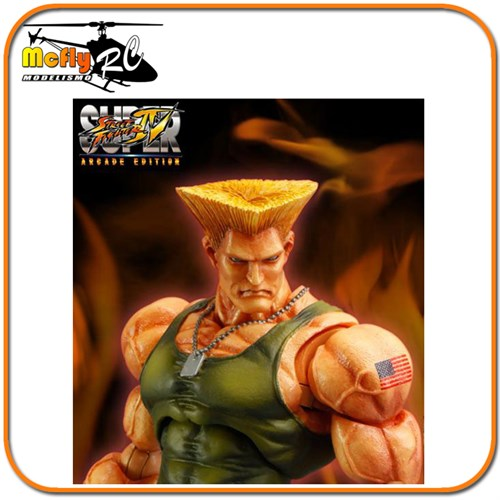 Street Fighter Guile Ssf4 Arcade Play Arts Kai Square Enix