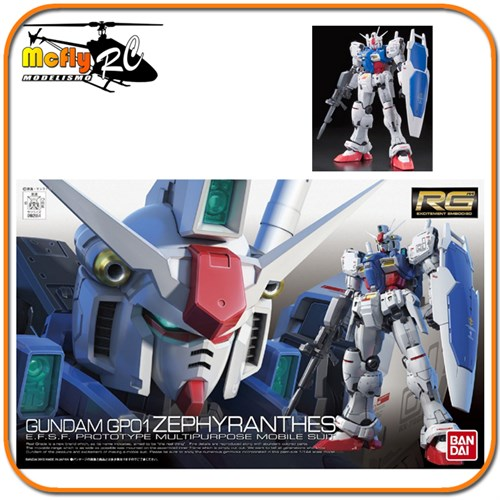 Gundam 1/144 Rg #12 Gp01 Zephyranthes Rx-78 0182654