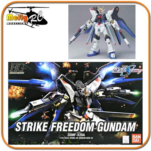Gundam Seed Destiny 1/144 Hg #34 Strike Freedom Zgmf-x20a
