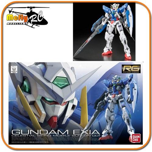 Gundam 1/144 RG #15 Exia Gundam Mobile Suit GN-001