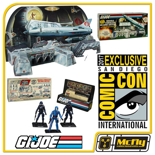 HASBRO G.I.JOE MISSILE COMMAND HEADQUARTERS SDCC 2017