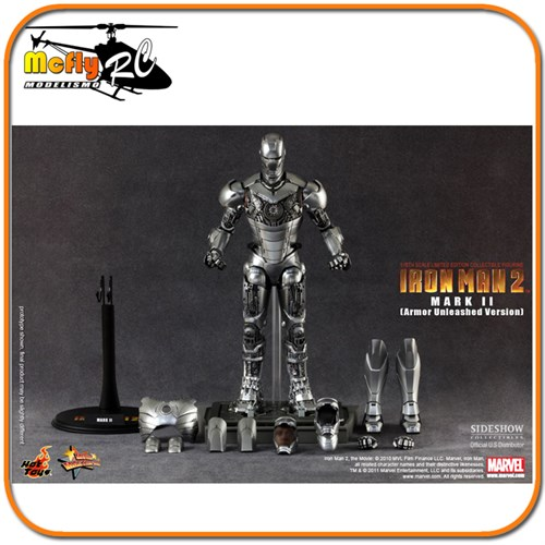Hot Toys Iron Man 2 Mark Ii Armor Unleashed Version