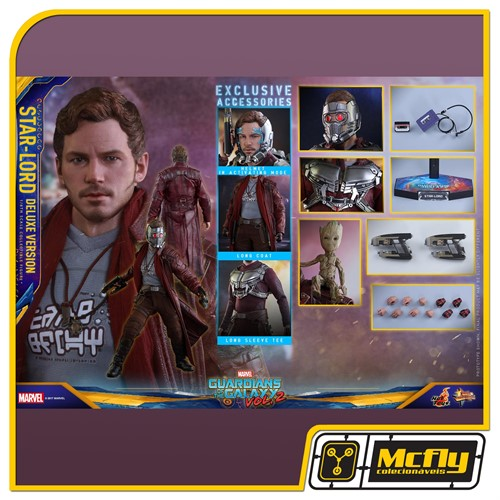 Hot Toys Guardians of the Galaxy Vol 2 Star Lord DELUXE VERSION MMS421