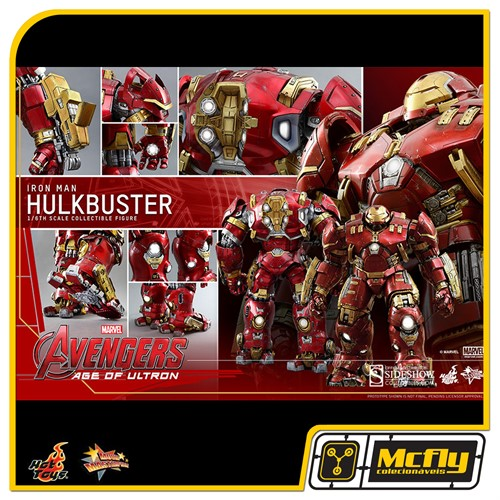 Hot Toys Hulkbuster MMS285 Avengers Age of Ultron