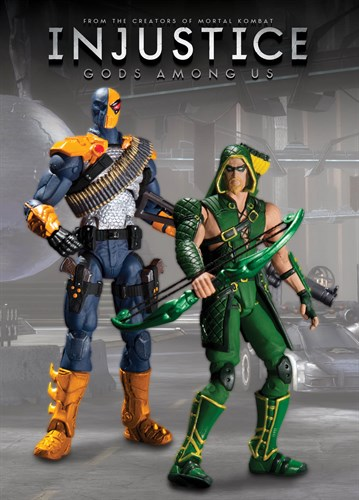 Liga Da Justiça Injustice Green Arrow Vs Deathstroke Diamon