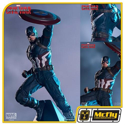 Iron Studios Captain Amercia Civil War 1/10