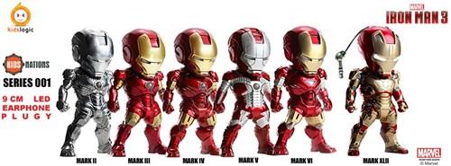 Iron Man 3 Mak Ii Mark Iii Mark Iv Mark V Mark Vi