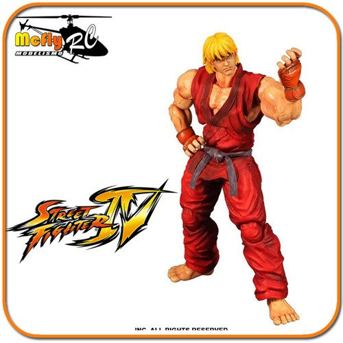 Street Fighter Ken Ssf4 Play Arts Kai Square Enix
