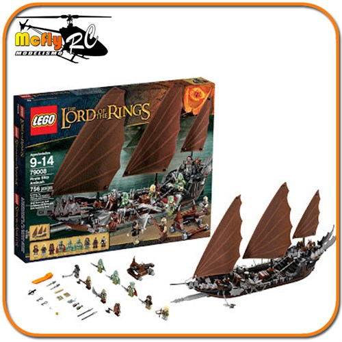 Lego Pirate Ship Ambush 79008 O Senhor dos Aneis The Lord of the Rings