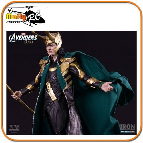Loki Avengers Escala 1/10 - Iron Studios